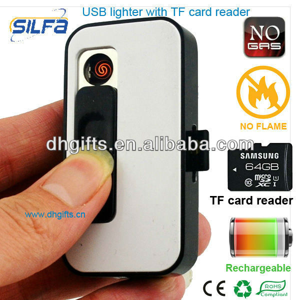 Electronic Lighter blister package rechargeable usb lighter flash memory cigarette lighter usb flash drive 8GB