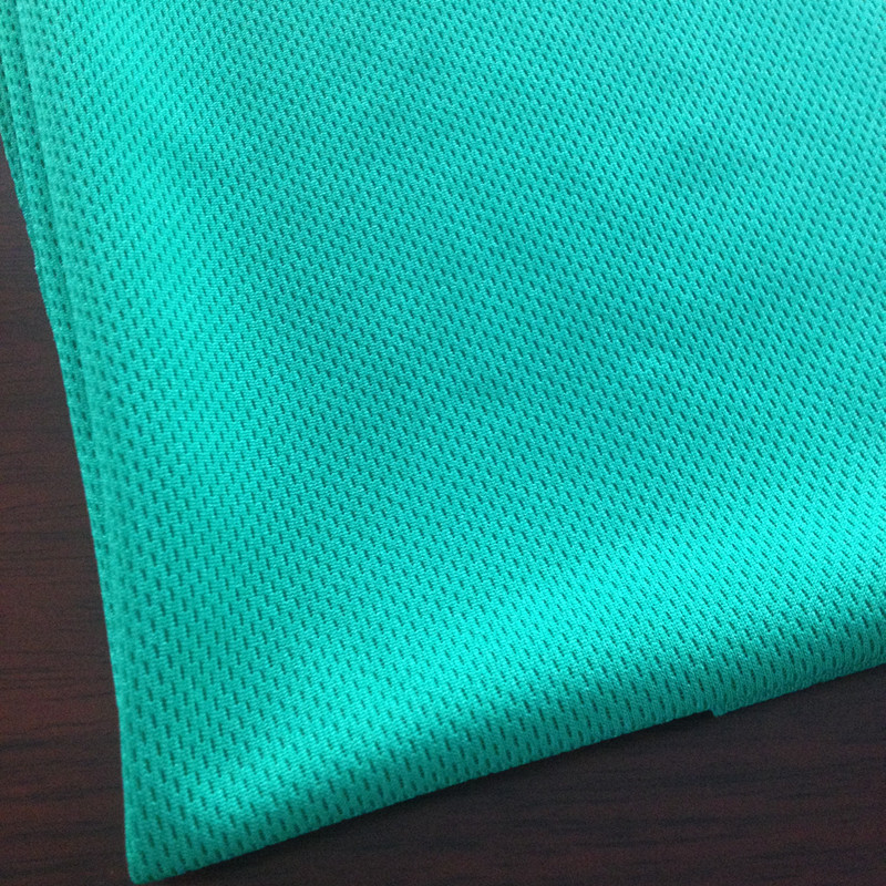 anti-UV polyester eyelet mesh fabric for soccer uniforms and soccer jersey and cycling wear
