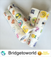 Kids sticker Children adhesive sticker rolls with flower animal cars sport ball or other design OEM