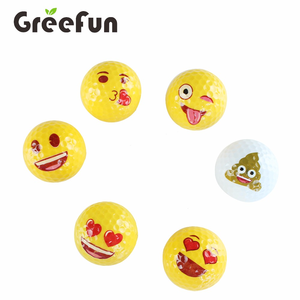 Multi Emoji Shape Party Supplies Mini Golf Gifts for Kids and Adult Custom Golf Equipment