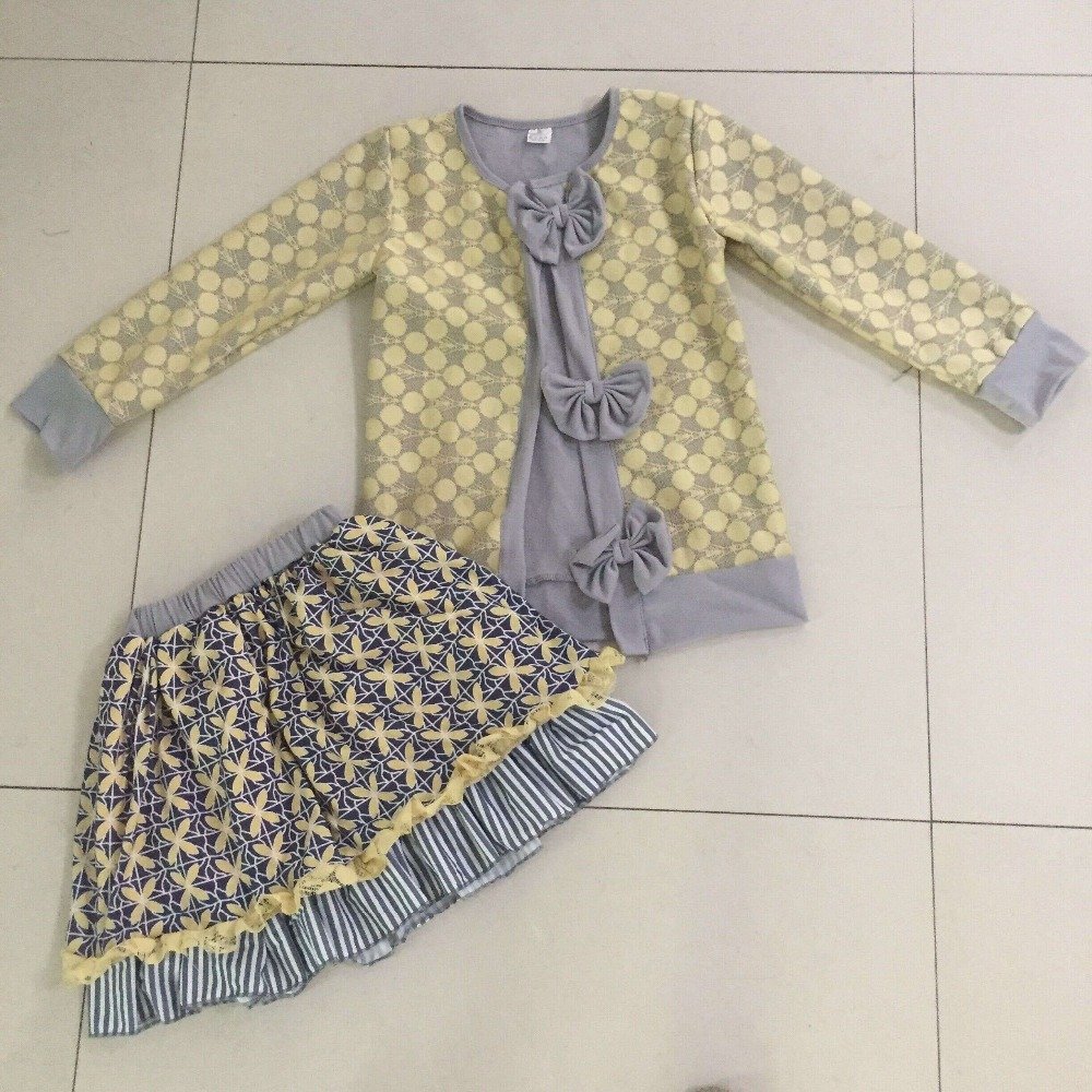 2017 conice new arrival children's boutique clothing for wholesale