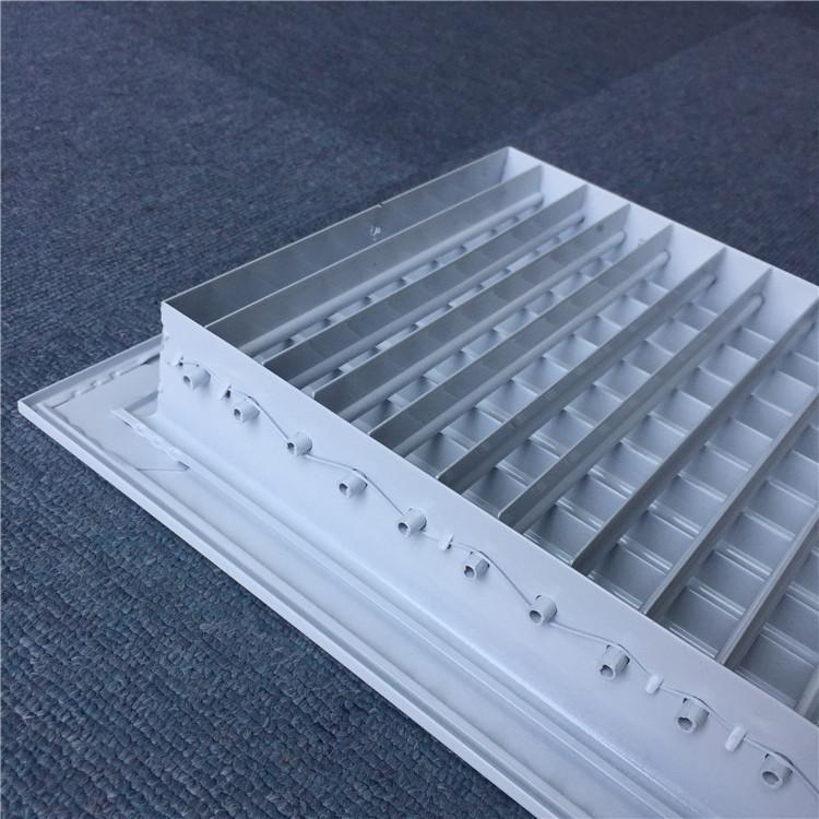 อลูมิเนียมเพดานระบายอากาศคู่ deflection ไอเสีย Air conditioner air Grille