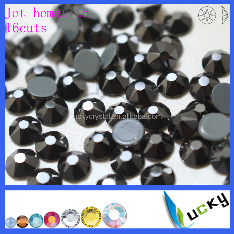 2016 new arrival 2078 8big 8small 16 star cuts ss20 hotfix rhinestones iron on transfer