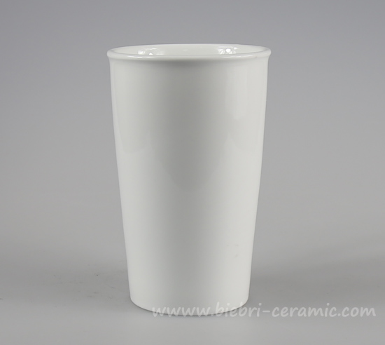 Plain White Cheap Low Price Ceramic Porcelain Travel