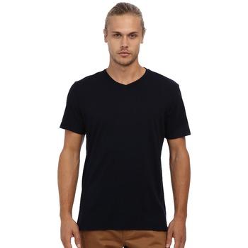 4d8fad3155 Plain Black V Neck Basic Style Boys T Shirt With High Quality Hot Sale ...