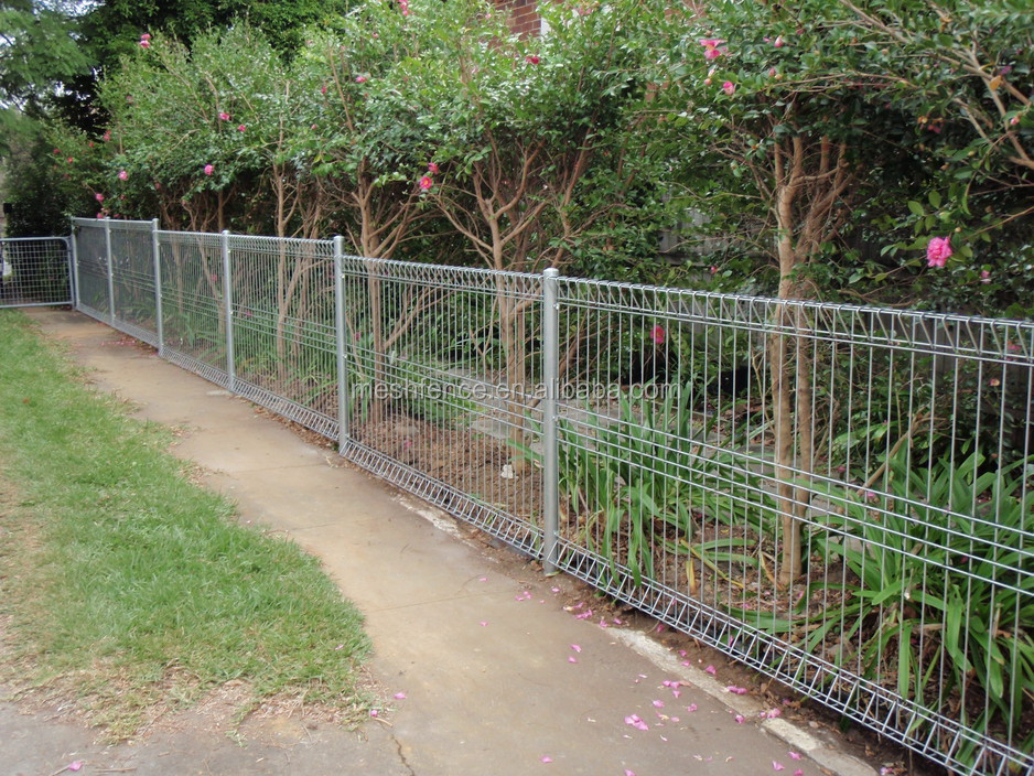 Residence Brc Welded Wire Mesh Fence For Singapore Market