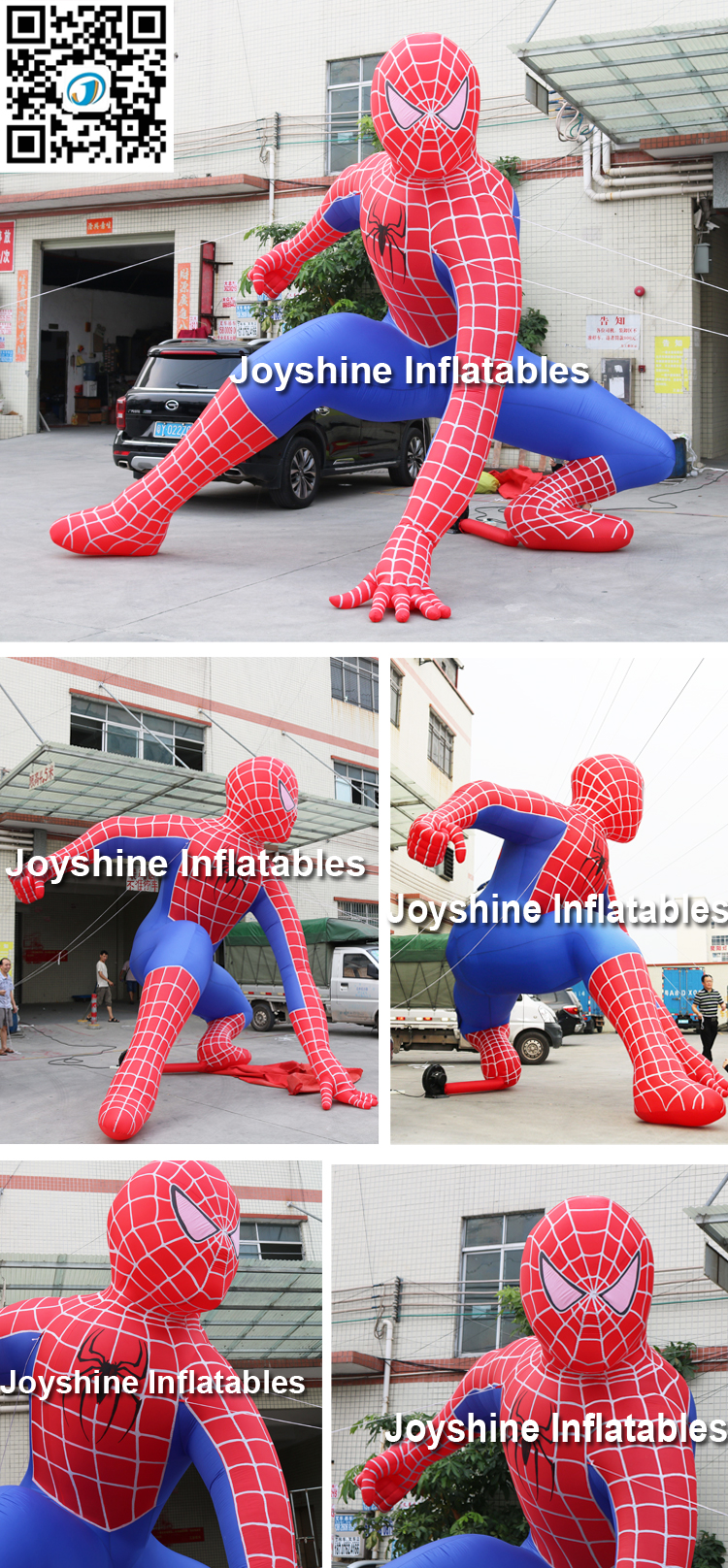 Giant Inflatable Spiderman Balloon Inflatable Spider Man
