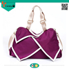 High quality women hand bag Colorful unique nylon tote bag Large