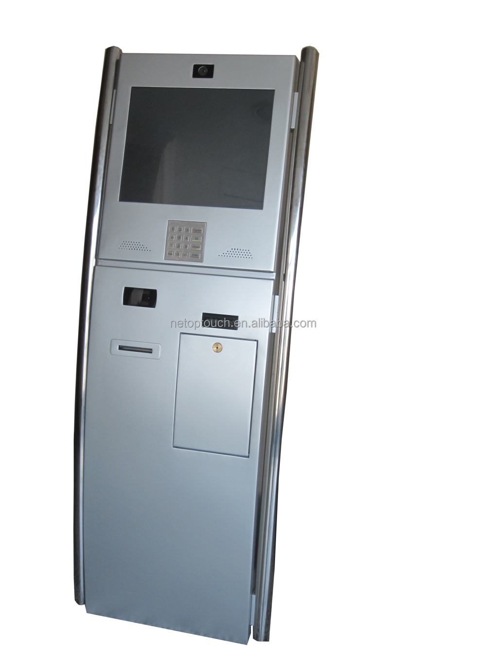 All-in-one bill acceptor cash payment Kiosk for bank