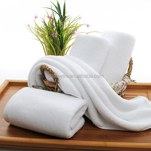White 100% cotton kitchen towel baumwolle cotton hand towels