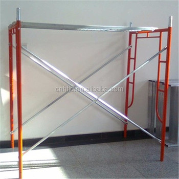 Adjustable Jack Base Frame Scaffolding For Construction
