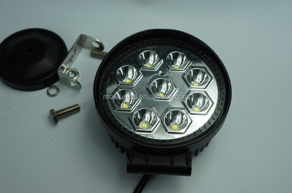 12 volt led verlichting auto ronde 27 w led werklamp