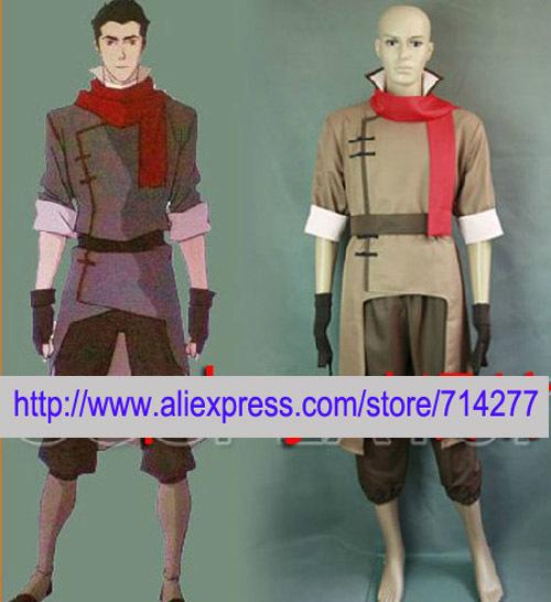 Free shipping Custom Cheap Mako Cosplay Costume from