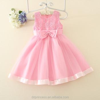 Princess Frocks Designs Pink Wedding Dress Party Dress For 6month