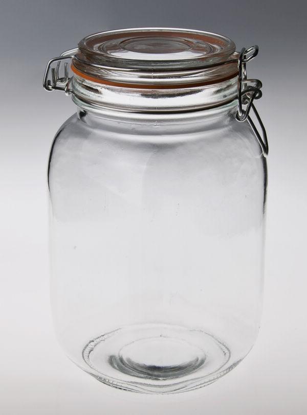 gros bocal en verre avec bouchon tanche verre pot de stockage bouteilles bocaux de stockage