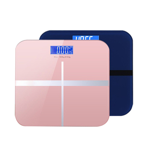 Usb charge high Precision Digital electronic tempered safety glass Bathroom body weighing scale weight scale