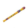 hot selling colored 10 holes kids mini flue woodwind instruments