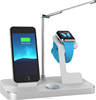 IFans 4 in 1 MFI power station with a LED lamp,i- watch stand and a iphone6 charge dock