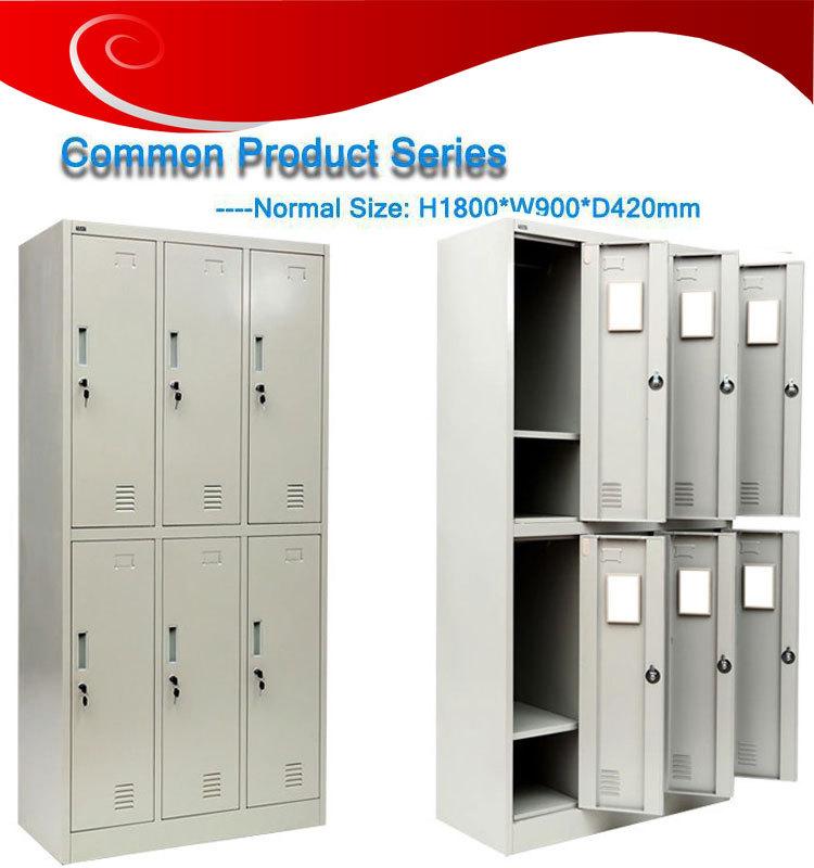 . High Quality Gym Metal 6 Door Storage Cabinets Metal Locker Bedroom  Furniture 6 Door Wardrobe Steel Clothing Locker   Buy Gym Metal 6 Door