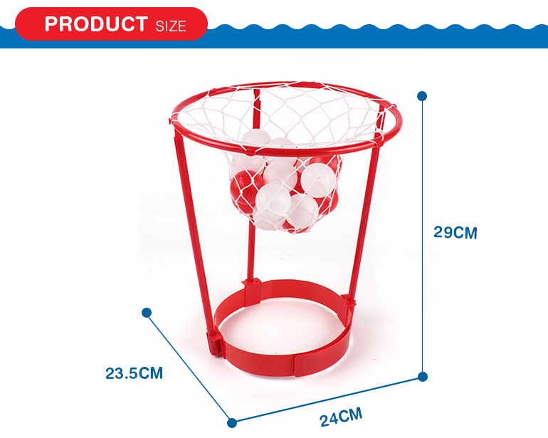 Custom sport toys basket head kids mini plastic basketball hoop from shantou factory