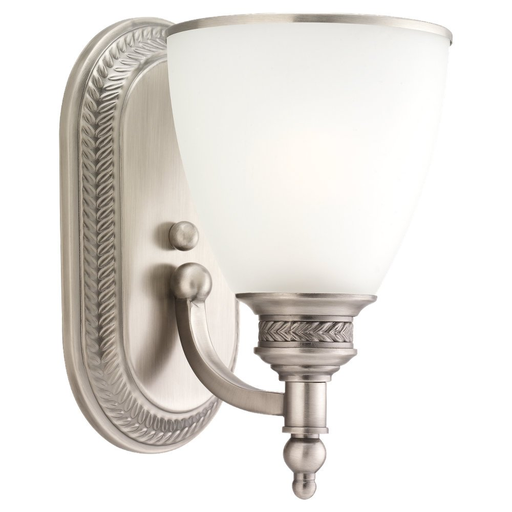 Get Quotations Sea Gull Lighting 41350 965 One Light Wall Sconce Antique Brushed Nickel Finish