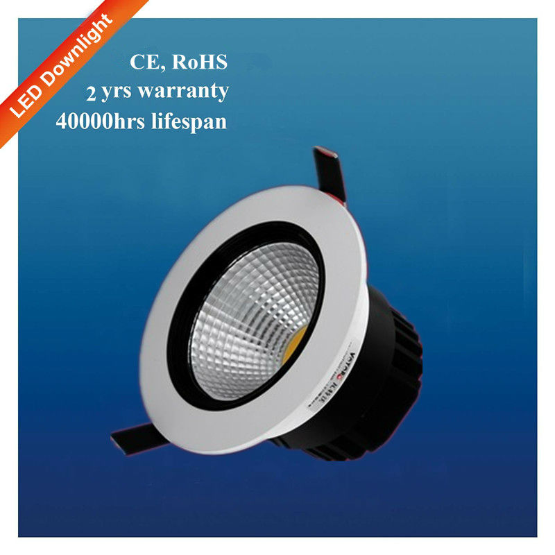 High qulity indoor lighting adjustable recessed 10w cob led down light