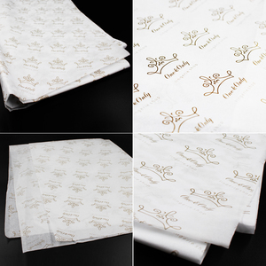 17gsm/22gsm foil custom printed tissue paper for gifts bag