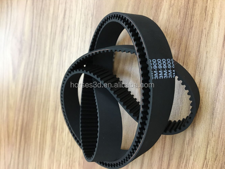 XL type industrial rubber timing belts for sewing machine