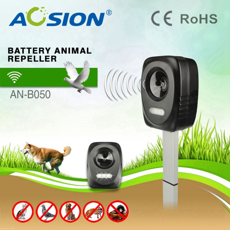 Aosion BSCI Garden Yard Protection ultrasonic crow chaser fast delivery