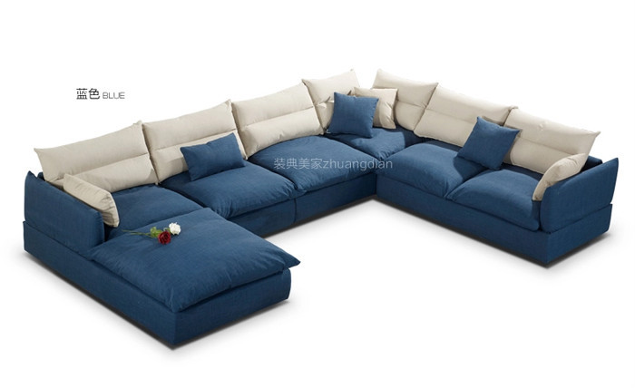 blue sofa set design simple sofa set sale u shape fabric sofa blue