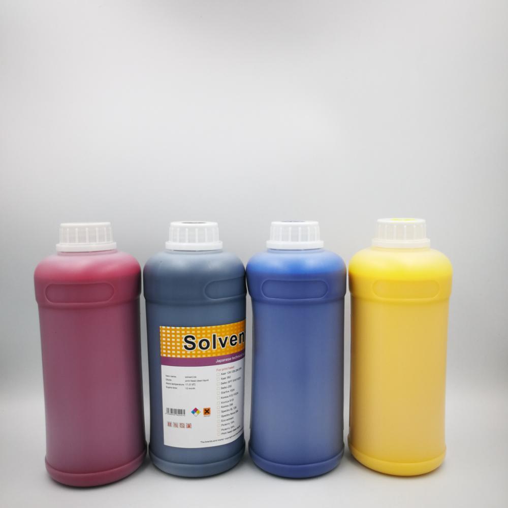 2e36a1e880352 Granel LNXWO tinta solvente para Seiko Xaar Konica cabeça polaris Spectra