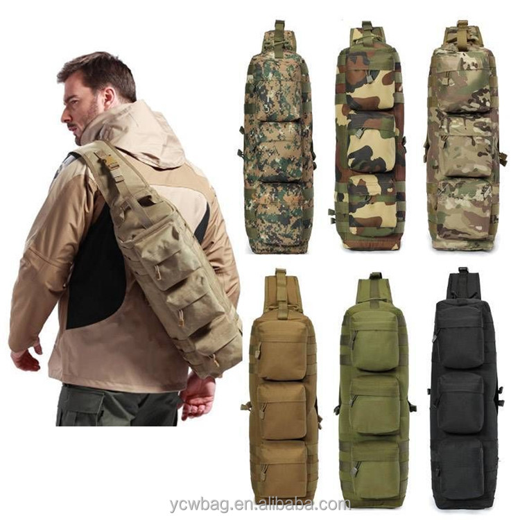 Outdoor Backpack Military Tactical Sling Bag For Men - Buy Sling ...