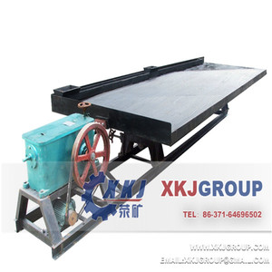 Mineral concentrator copper ore shaking table, zircon, chrome, tin ore separation