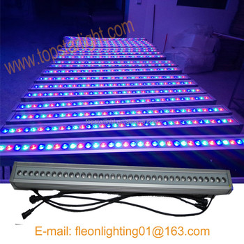 Dmx RGB Led Lighting For Outdoor Stair, Outdoor Wall Recessed Dimmable,  Outdoor Stadium Lighting
