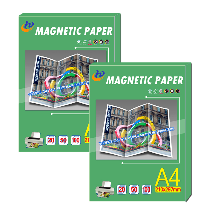 magnet glossy and matte magnetic photo paper with water resistant