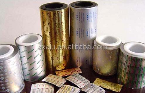 Custom Printing Aluminium Roll Foil Pharmaceutical Packaging ...