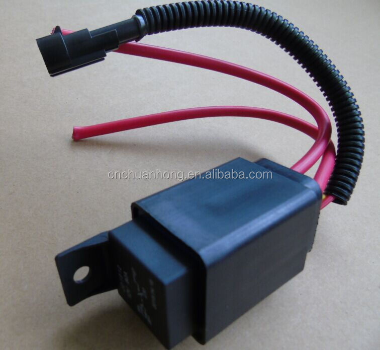 Auto relay 12 V/ 80A large current waterproof relay socket