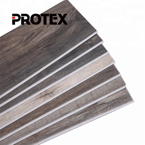 Protex virgin material LVT floor/ Interlocking Luxury flooring / pvc flooring vinyl plank