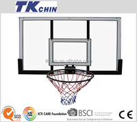 48'' Polycard steel framed plastic basketball hoop adjustable