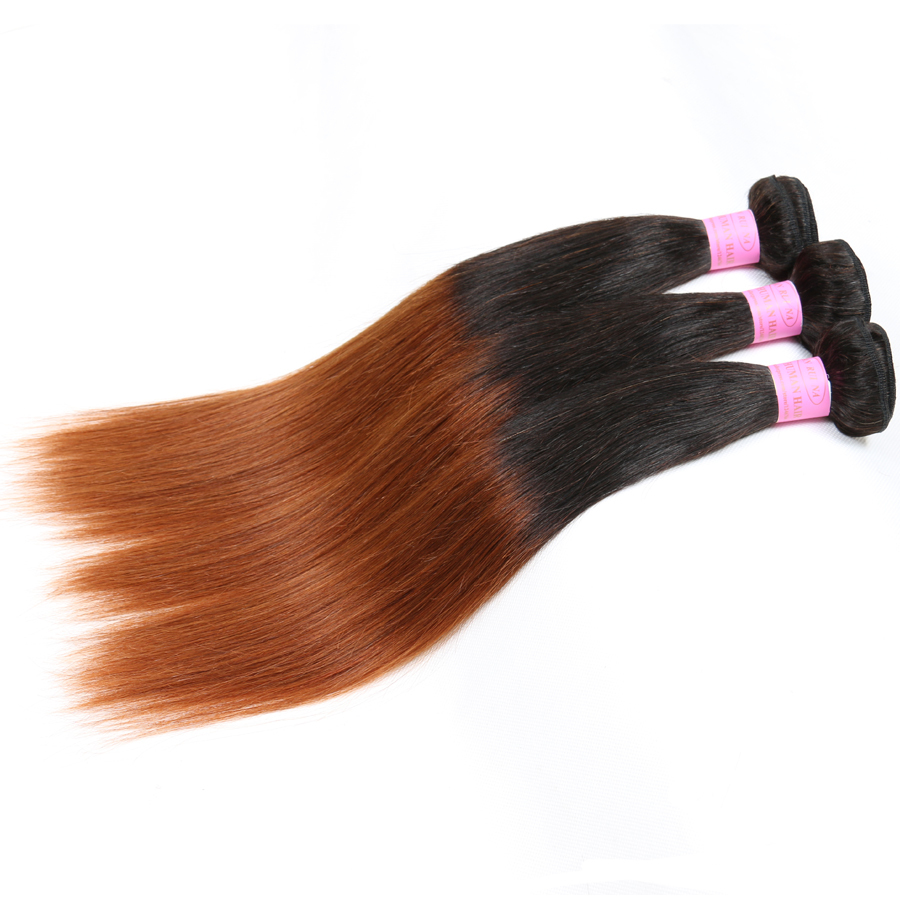Buy Ombre Malaysian Hair Weave Bundles 1b 30 Ombre Virgin Hair 3