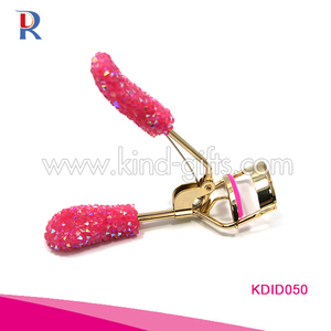 2018 NEW design Rhinestone Jeweled Eyelash Curlers bling bling crystal Eyelash curler