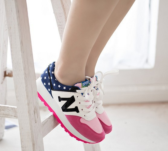 2107310d76a19 femmes de la mode baskets toile N balance chaussures chaussures de mots  nouveaux toile baskets