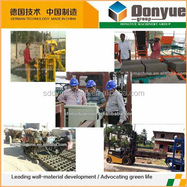 2018 New Products Construction Tools Block Making Machine
