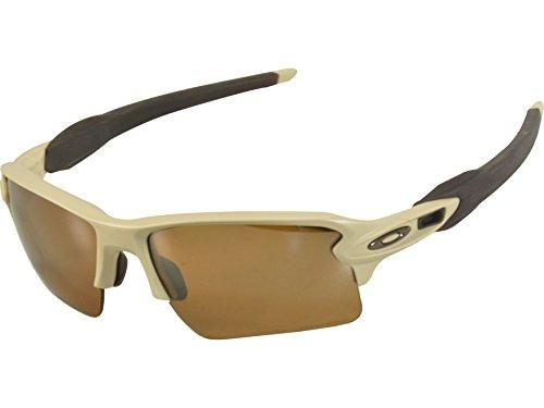 89b156bb3035 Get Quotations · Oakley Flak 2.0 XL Frame: Desert Tan Lens: Prizm Tungsten  Polarized OO9188-8459