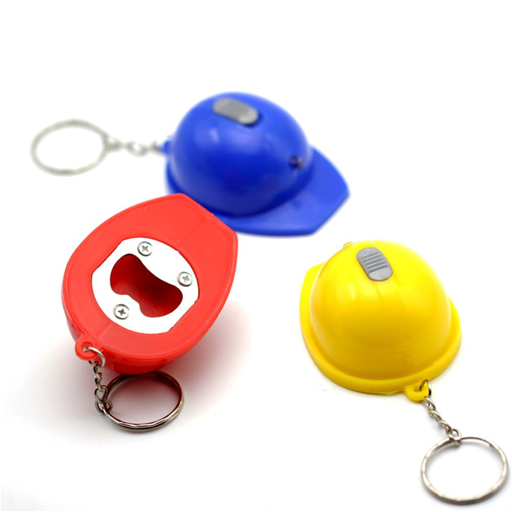 Wholesale colorful different types blank 3D helmet shape beer bottle opener