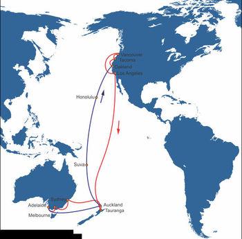 Usa Canada Sea Freight To Australia New Zealand Shipping China