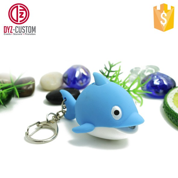 Dolphin shape LED Key chain with Sound (2).jpg