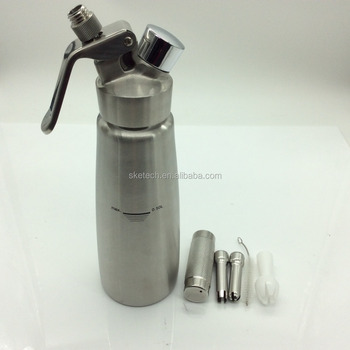 250 ml/500 ml Aluminium/Rvs Slagroom Charger Dispenser