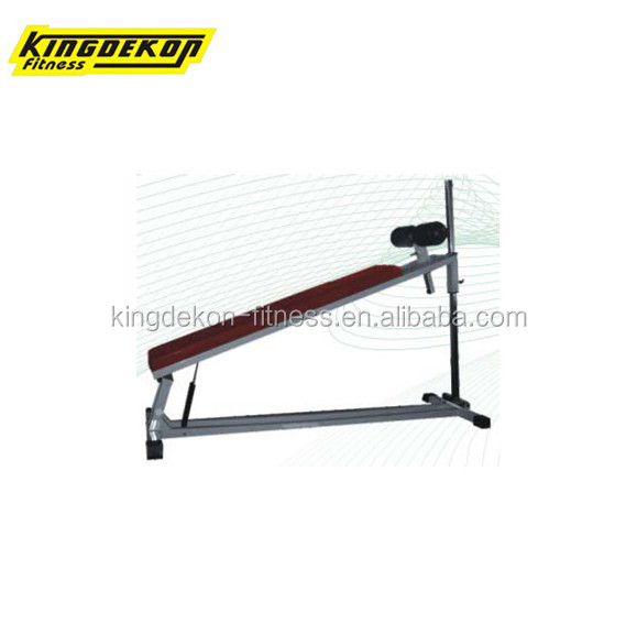 square pipe adjustable decline abdominal bench