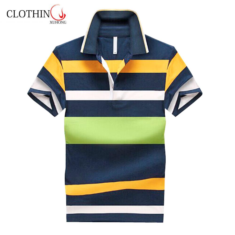 2018 Summer Short Sleeve Cool Design Color Combination Collar Design